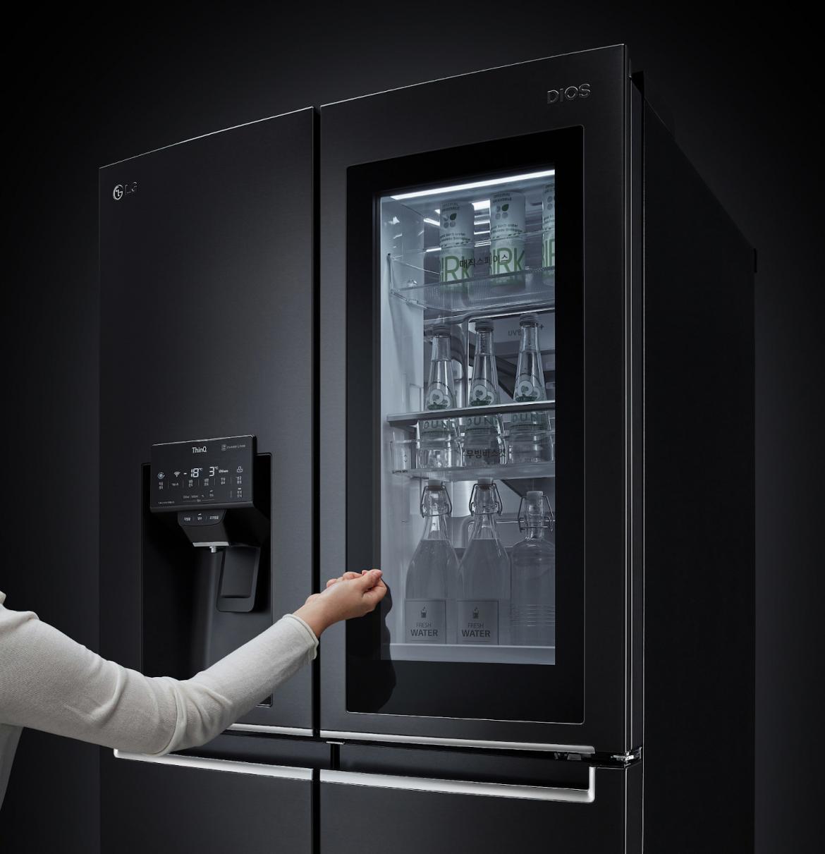 LG Electronics USA InstaView Door in Door Refrigerator 1