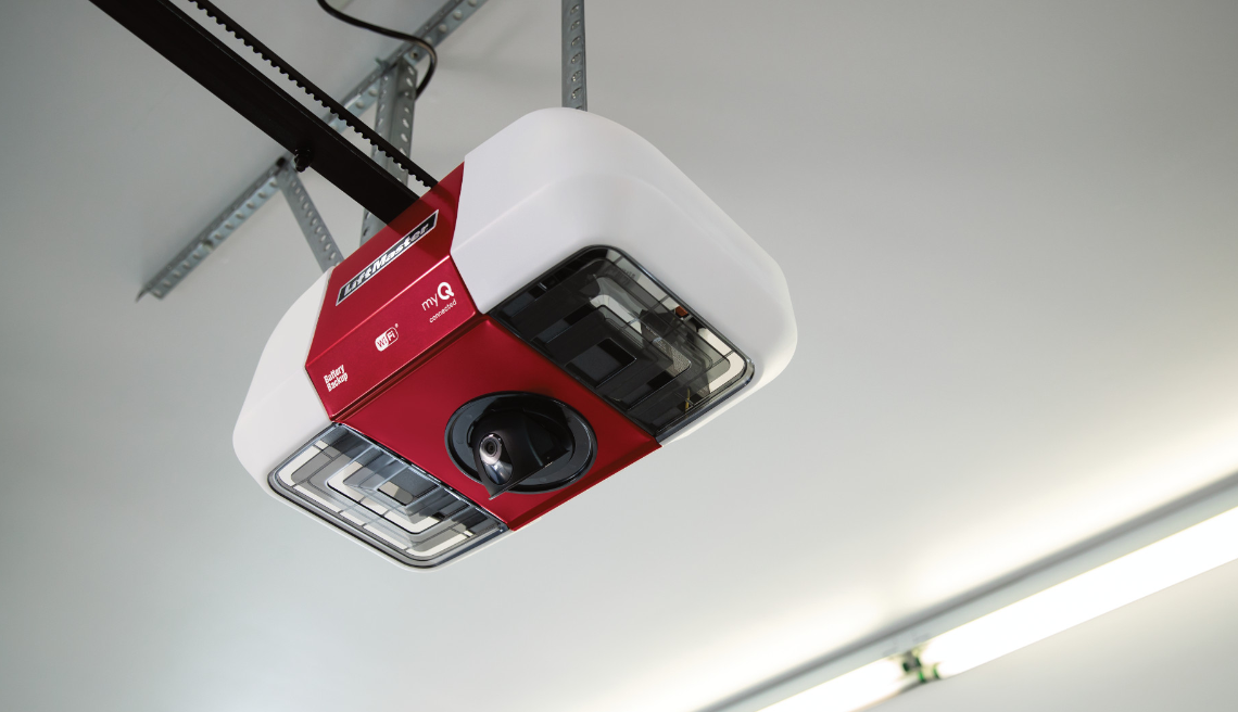Liftmaster Introduces First Garage Door Opener With Smart Camera Residential Products Online