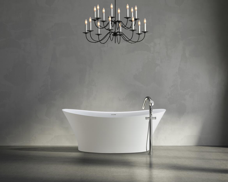 MTI BATHS Mallory freestanding Soaking tub