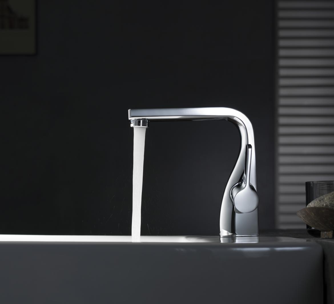 Beautiful Bathroom Faucet Modern Curved