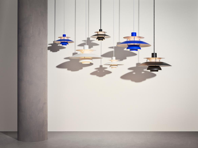 PH 5 Louis Poulsen light pendants