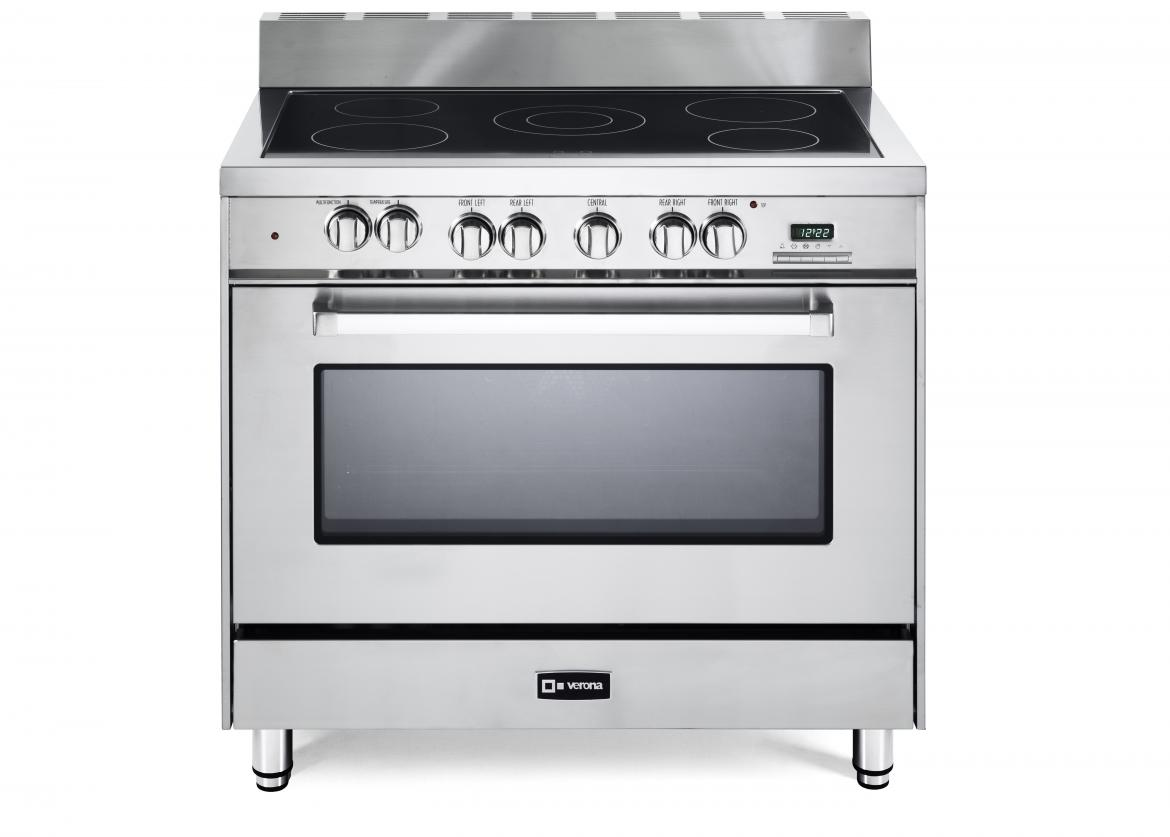 Verona now offers the industry's only 36-inch fully electric range, and it packs the same powerful punch as gas.