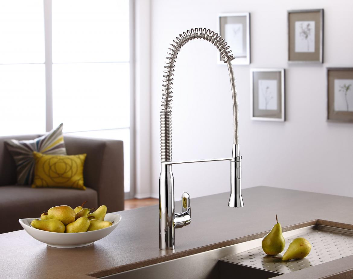 14 Professional-Style Faucets to Consider for Your Kitchens ...