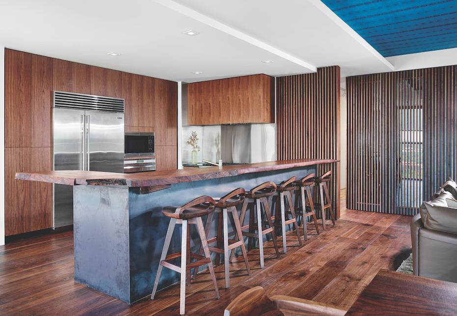 Alterstudio Architecture secret wine refrigerator