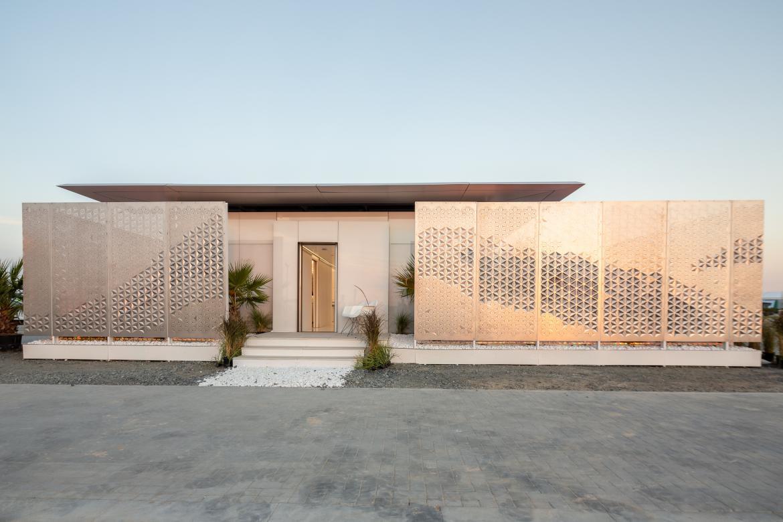 FutureHAUS solar decathlon Dubai exterior