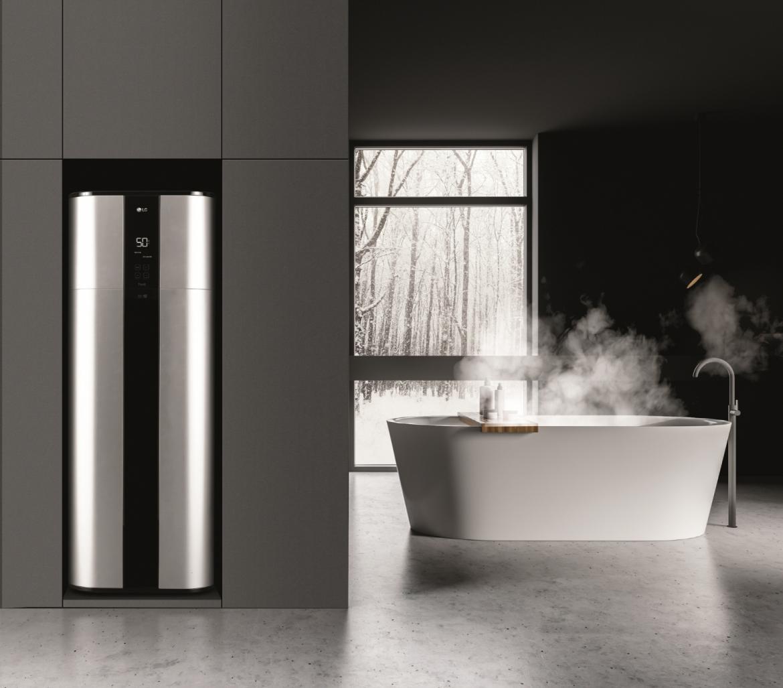 LG inverter heat pump water heater