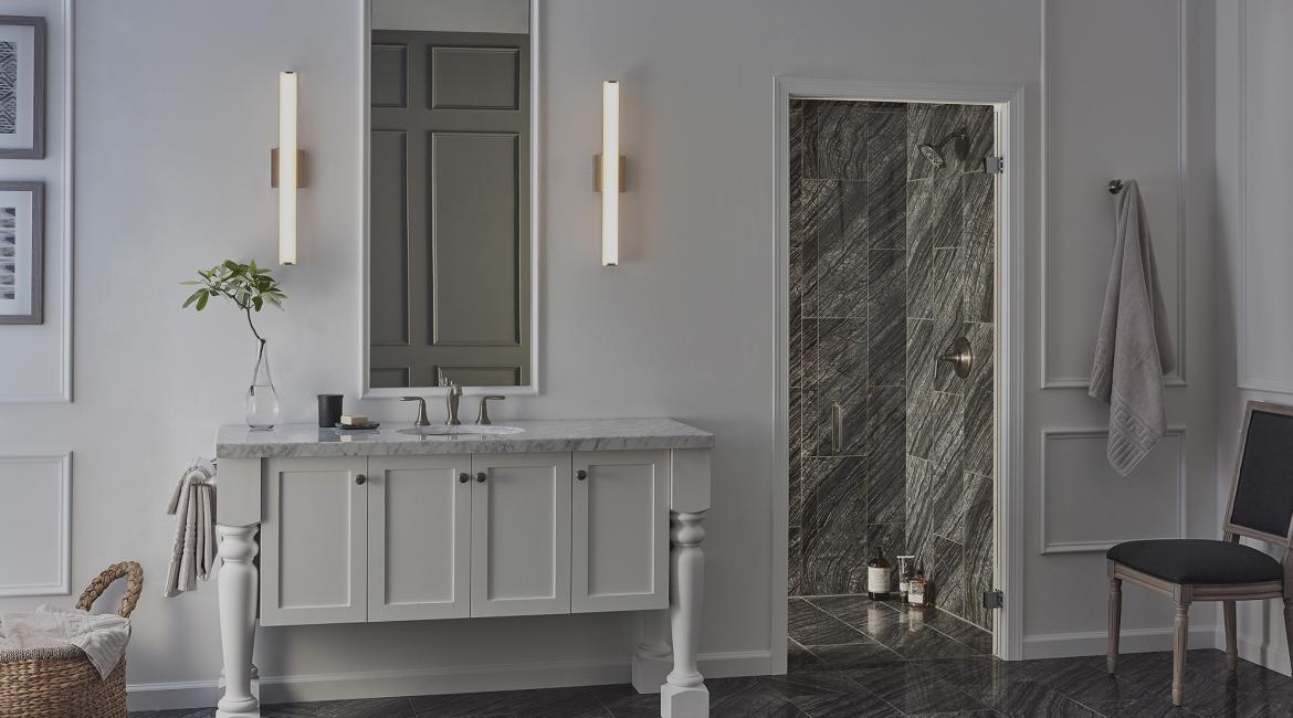 Lumens bathroom lighting