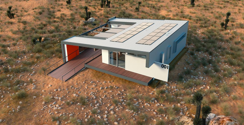 Team Vegas solar decathlon home