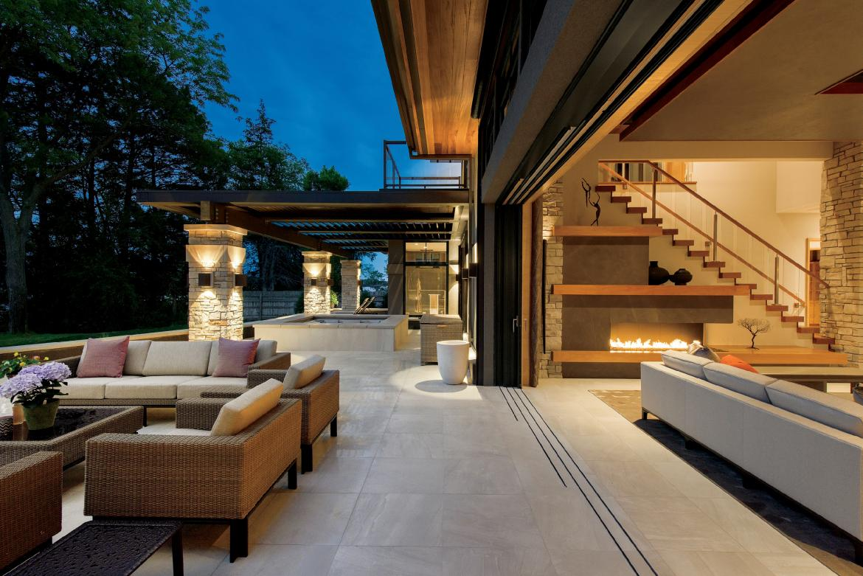Marvin Ultimate Lift and Slide Multislide Patio Door Beauty Image