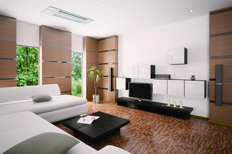 Mitsubishi MLZ Installation living room Ceiling Cassette