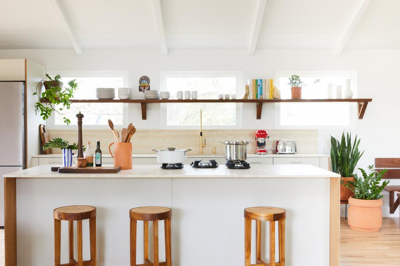 Robert McKinley Studio Federal Shower Kitchen