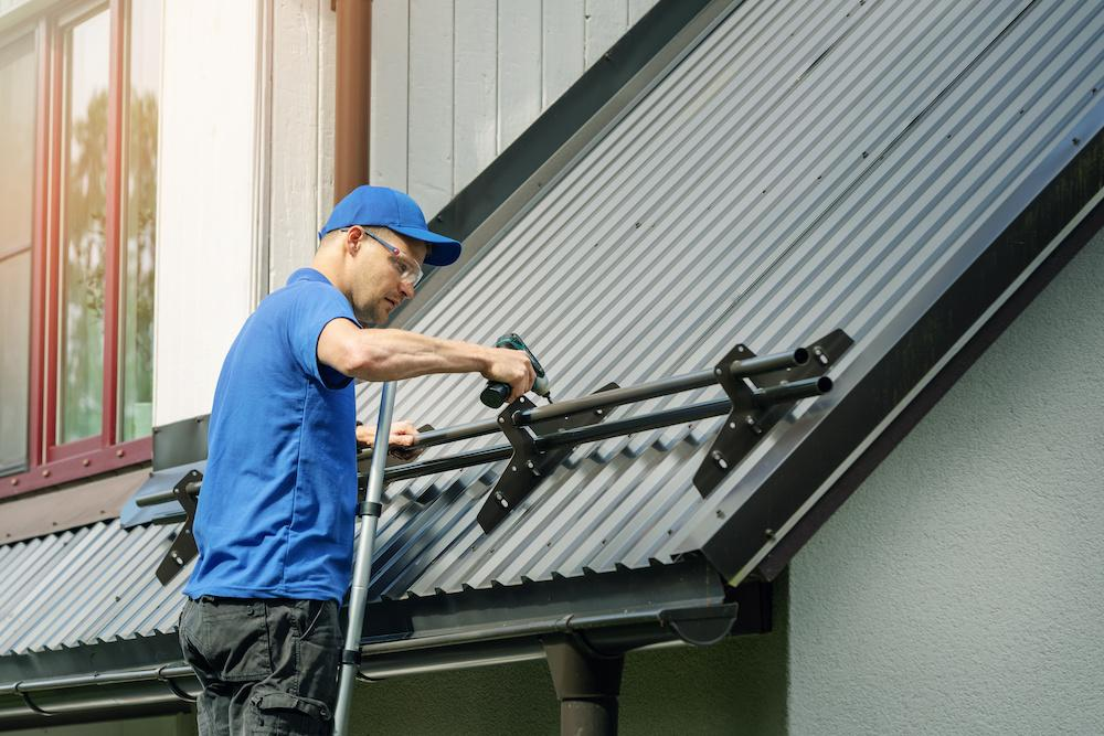 metal roofing has been affected by the residential building material price spikes
