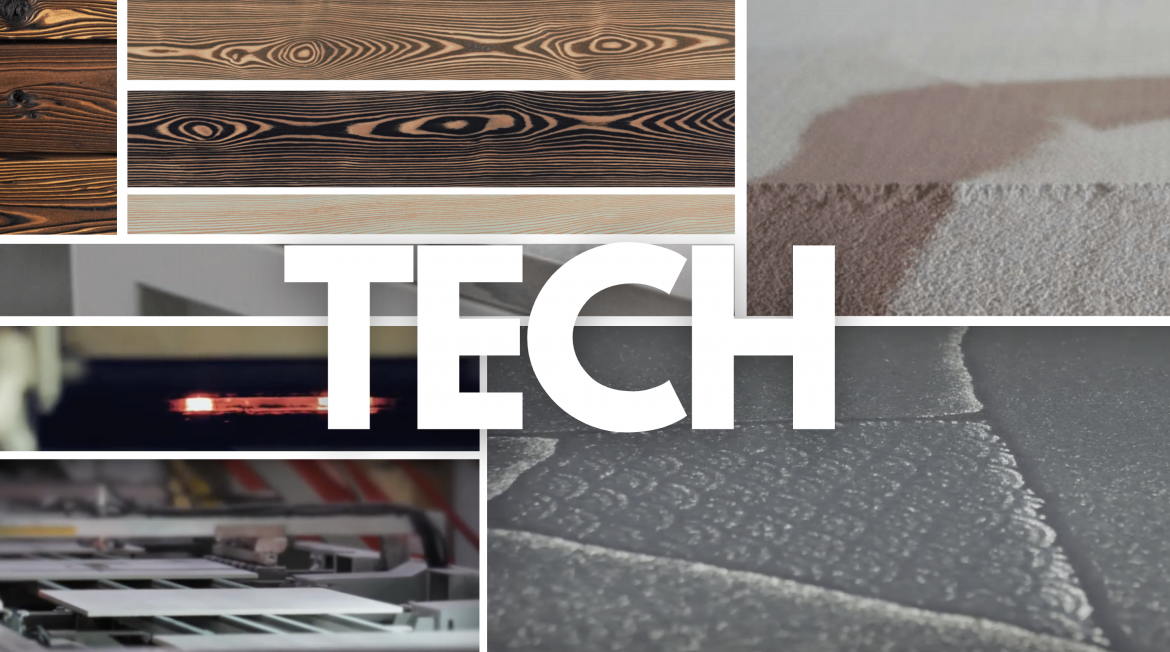 The Technology CURRENTLY DEFINING CERAMIC SURFACES