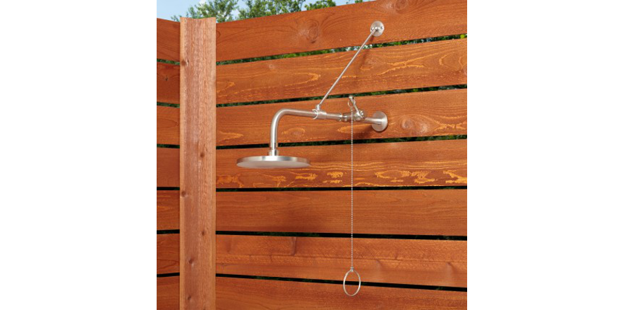 Signature Hardware outdoor shower