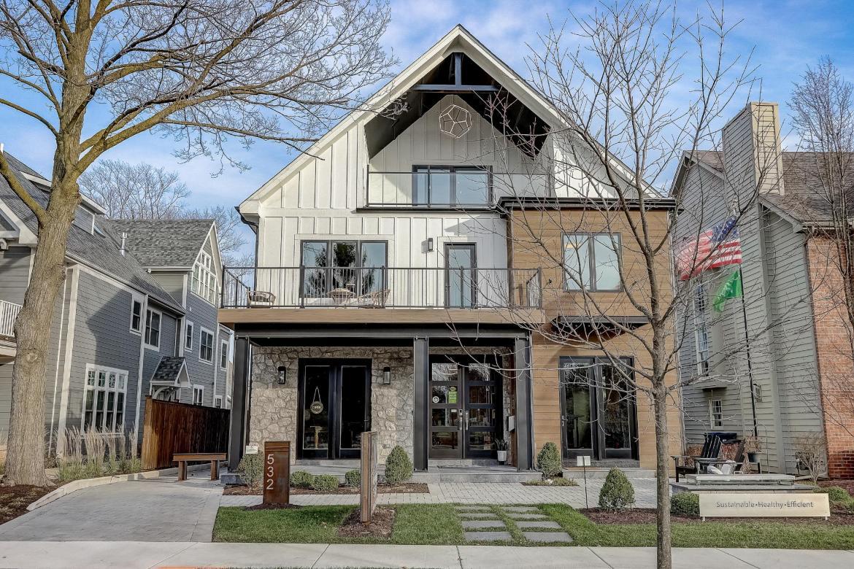 djk custom homes model home