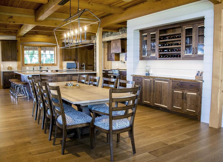 modern farmhouse clean white oak