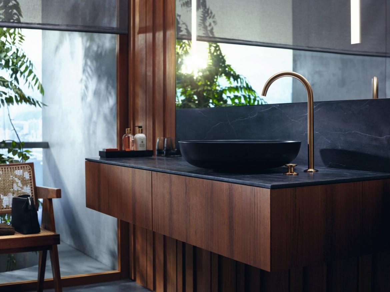 modern simple bath faucet