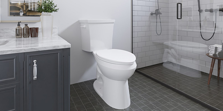 new toilet for builders