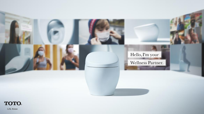 toto wellness smart toilet ces