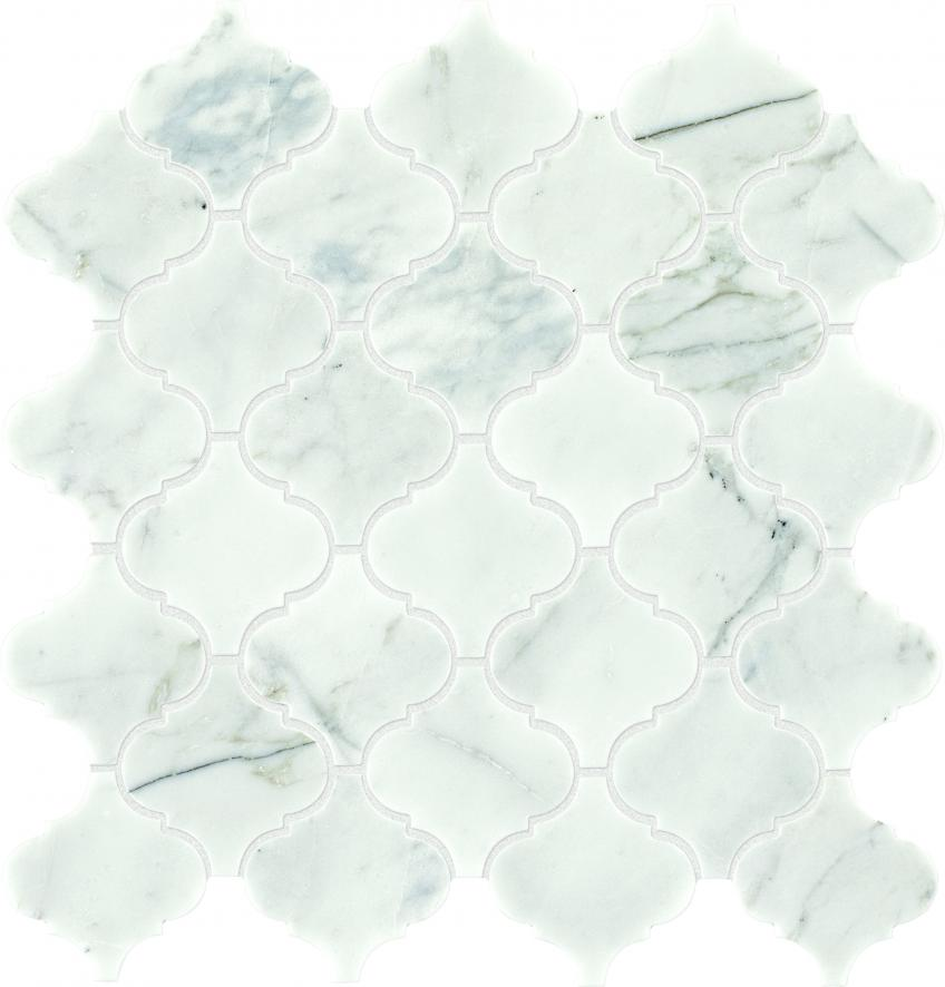 Light-colored Venetian Calacatta tile from Daltile