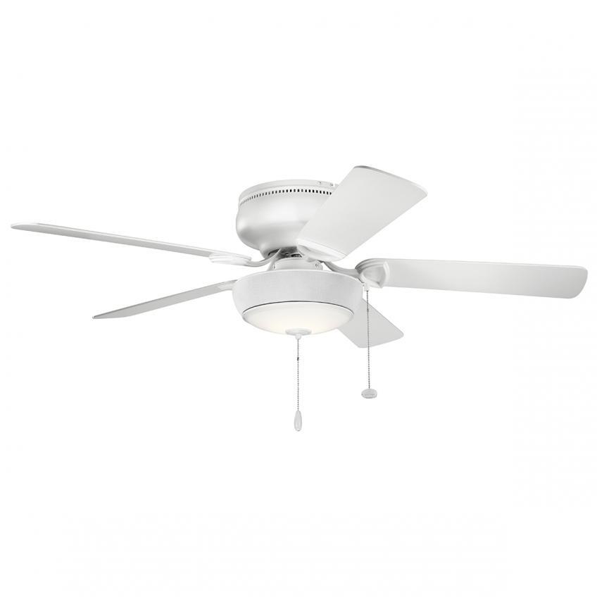 bluetooth ceiling fan light from kichler on a fiveblade fan