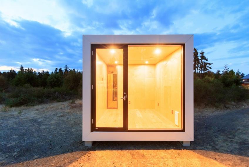 Aux box prefab outbuilding