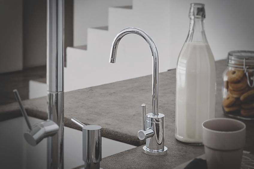 California Faucets hot and cold water dispenser