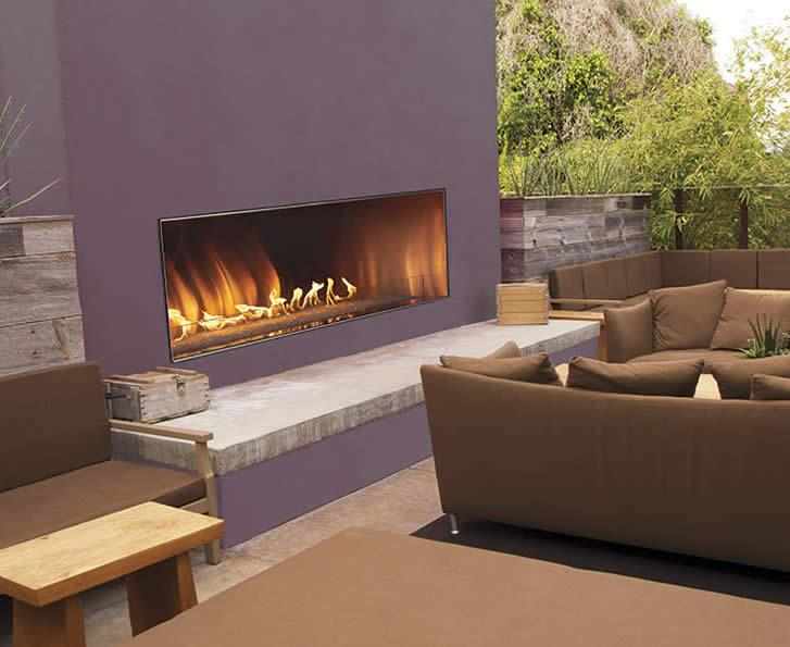 Empire Outdoor Linear Fireplace | Residential Products Online
