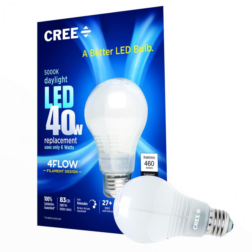 Cree says it has introduced a new LED bulb that delivers even better light with better performance, a longer life, and more energy savings than other bulbs on the market.