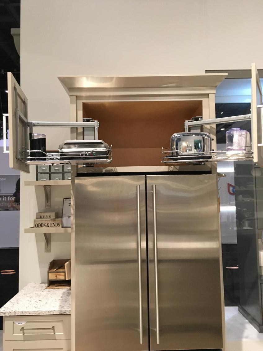 Diamond Debuts Clever Pull-Out Wall Refrigerator Cabinet ...