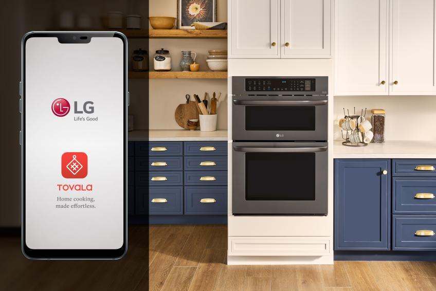 LG tovala partnership
