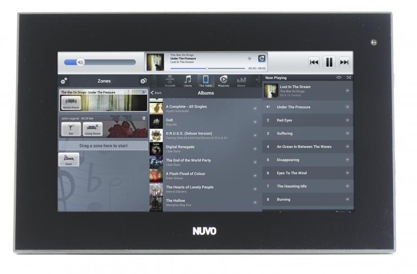Legrand Nuvo P30 Touch Screen