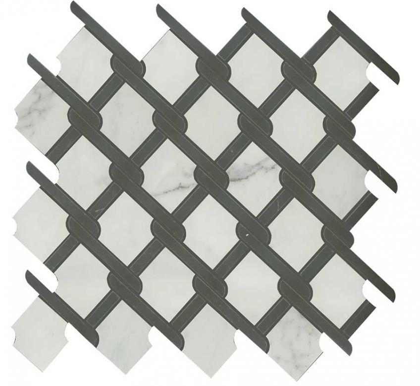 Classic Weave Classentino Marble in Black and White