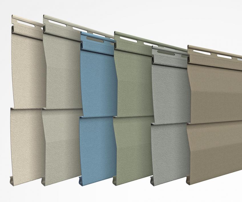 ProVia Willowbrook Vinyl Siding panels colors