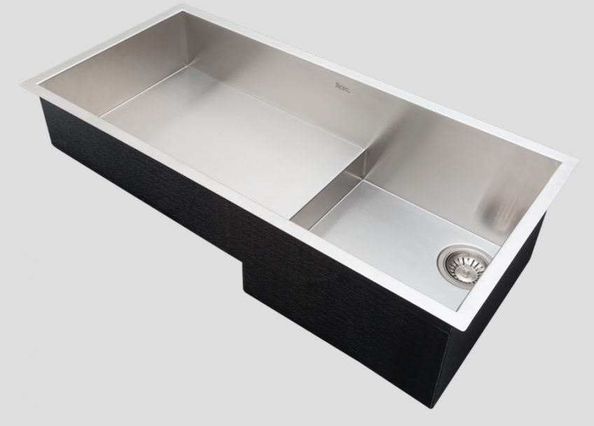 Rohl Culinario kitchen Sink stainless steel