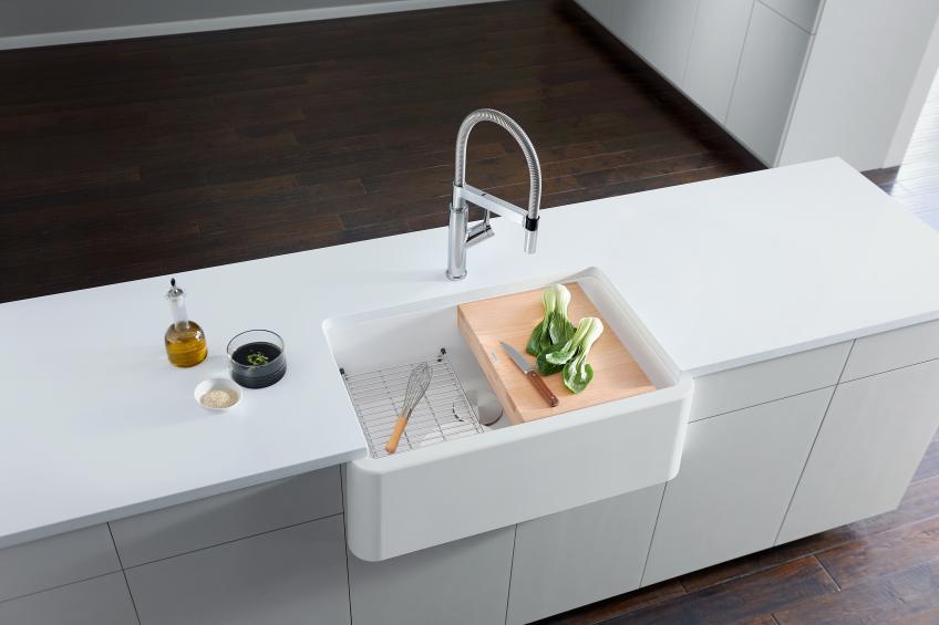 Blanco Solenta Senso touch-free kitchen faucet