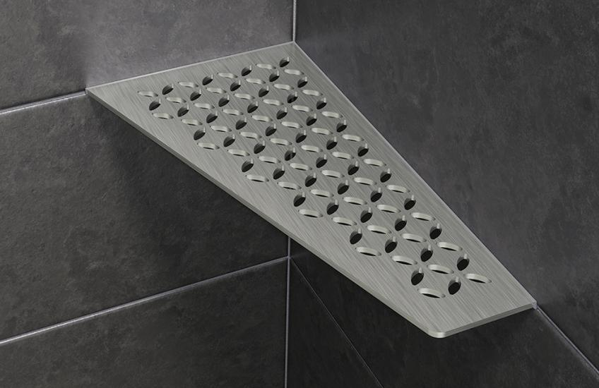 Schluter Stainless Steel Shower Shelves Residential Products Online