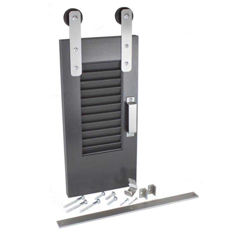 Shutter Series barn door hardware from Goldberg Brothers