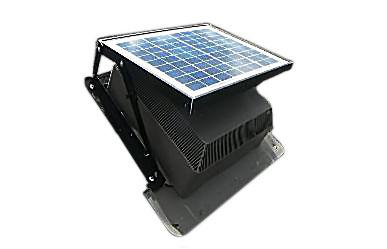 The solar attic fan uses the sun's energy to exhaust hot air and humidity from the attic, cooling the upper floors of a home. It improves homeowner comfort and reduces energy costs, the company says. The unit requires no wiring, requires almost no maintenance, and does not require any augmentation to the roof.