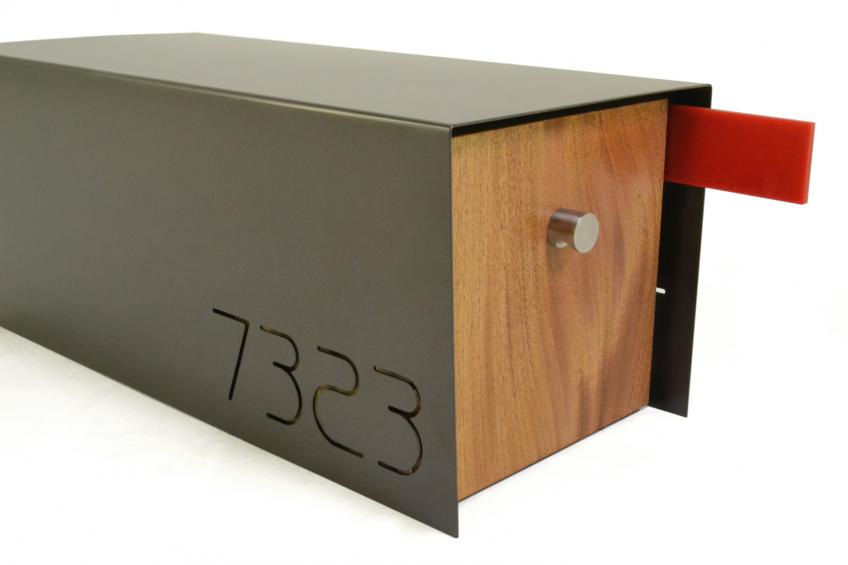 A Cool Modern Home Needs a Mailbox Like this | Residential ...