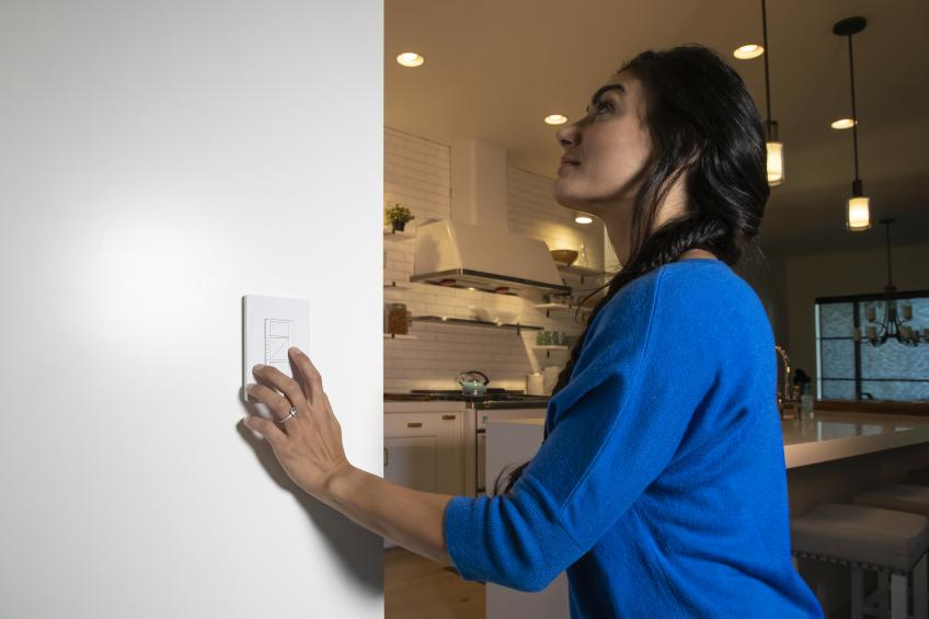 Caseta Lutron smart light switchs