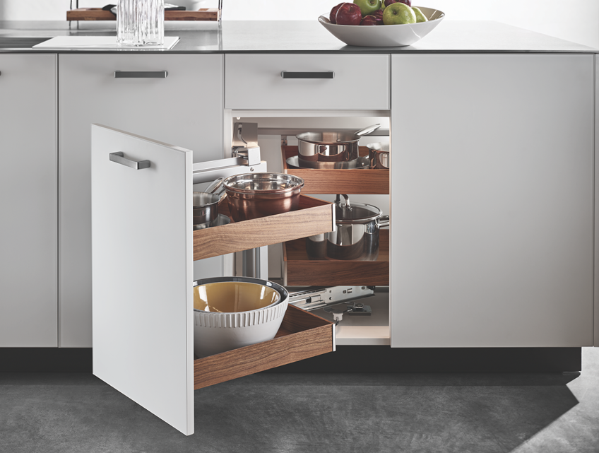 Hafele Fineline Kitchen cabinet