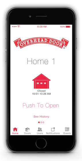 OHD Anywhere, by Overhead Door, is a new smart device-enabled garage door controller that allows homeowners to monitor and operate a garage door from a compatible smart device.