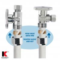 Keeney Manufacturing No Crimp Pex Valve