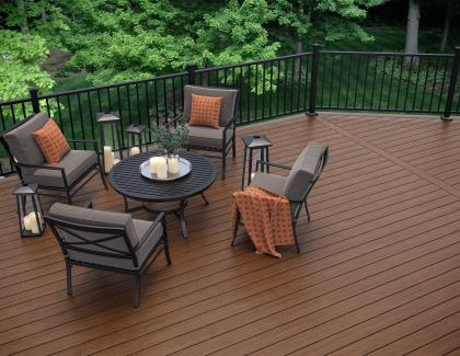 Affordable composite decking