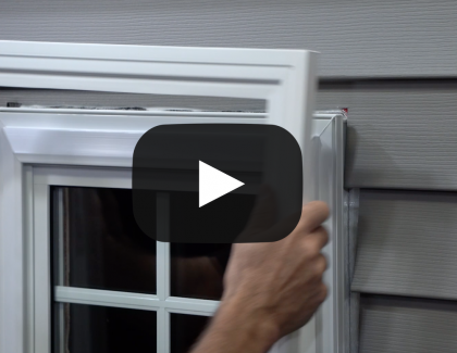 Alside Mezzo Exterior Trim with SwiftLock Tech