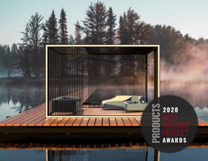 Aluvision outdoor living box lake