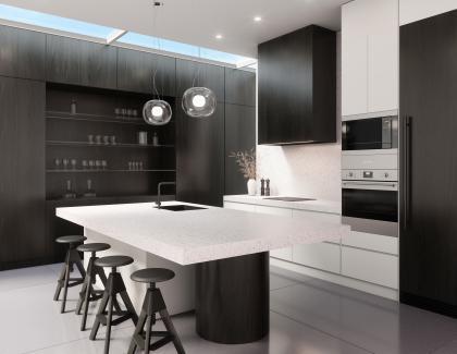 Gensler Cambria USA quartz kitchen