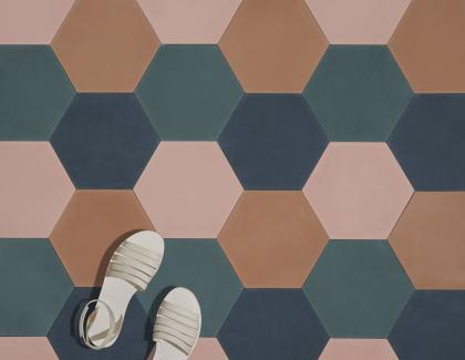 hexagon customizable tile