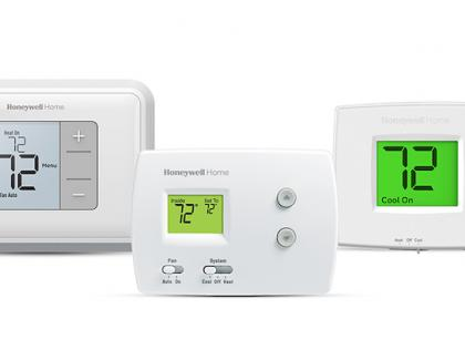 Honeywell Homes Thermostat Line